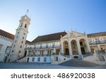 famous tower at the courtyard... | Shutterstock . vector #486920038
