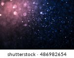 blur and bokeh  vibrant colors. ... | Shutterstock . vector #486982654