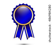 award. blank labels for your... | Shutterstock .eps vector #486984280