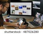 photography ideas creative... | Shutterstock . vector #487026280