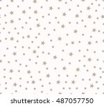 seamless vector pattern with... | Shutterstock .eps vector #487057750
