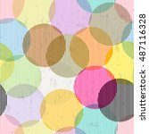 seamless pattern background ... | Shutterstock .eps vector #487116328