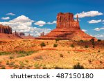 beautiful view of monument... | Shutterstock . vector #487150180