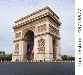 arch of thriumph  paris | Shutterstock . vector #48716677
