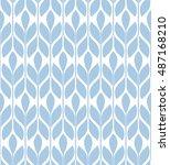 seamless pattern. floral... | Shutterstock .eps vector #487168210