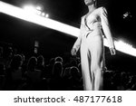fashion show  a catwalk event | Shutterstock . vector #487177618