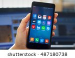 wieliczka  poland   22... | Shutterstock . vector #487180738