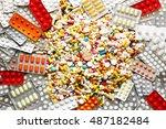 A Lot Of Colorful Medicine...