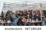 cafe for bikers. st. petersburg ...