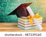 graduation. | Shutterstock . vector #487239160