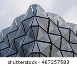 cladding on building | Shutterstock . vector #487257583