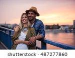 Tourist Couple Enjoying Perfec...