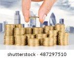 loan. | Shutterstock . vector #487297510