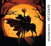 Headless Horseman. The Horsema...