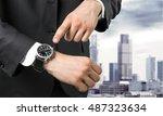 watch. | Shutterstock . vector #487323634