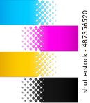 cmyk colors 3  | Shutterstock .eps vector #487356520