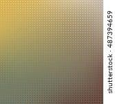 halftoned background | Shutterstock .eps vector #487394659