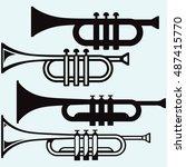 Trumpet  Musical Instrument....