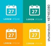 27th calendar four color...