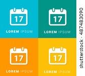 17th calendar four color...