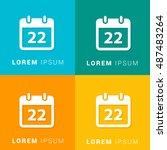 22nd calendar four color...