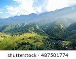 cat cat village of sapa  sapa... | Shutterstock . vector #487501774