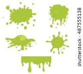 simple green slime set....