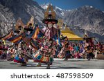 diskit  ladakh  india   october ... | Shutterstock . vector #487598509