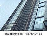 toronto skylines  city street... | Shutterstock . vector #487640488