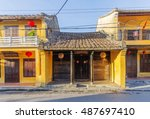 hoi an  vietnam   july 17  2015 ... | Shutterstock . vector #487697410