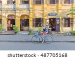 hoi an  vietnam   july 17  2015 ... | Shutterstock . vector #487705168