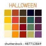 halloween classic tone colors....