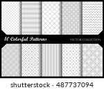 simple and elegant  pattern... | Shutterstock .eps vector #487737094