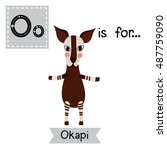 Cute Children Zoo Alphabet O...