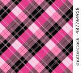 plaid   tartan pattern   Shutterstock .eps vector #487764928