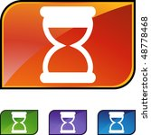 hourglass web button isolated... | Shutterstock . vector #48778468