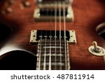 Mahogany Electric Guitar With...