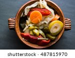 Mix Of Turkish Pickles With...