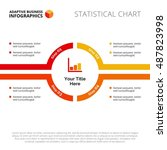round timeline diagram template   Shutterstock .eps vector #487823998