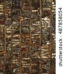 indigenous pattern   Shutterstock . vector #487858054