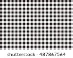 textured tartan plaid patterns. ... | Shutterstock .eps vector #487867564