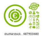 euro financial diagram... | Shutterstock .eps vector #487903480