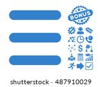 menu items pictograph with... | Shutterstock .eps vector #487910029