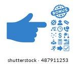 index hand icon with bonus...