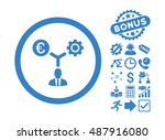 euro financial development... | Shutterstock .eps vector #487916080
