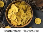 Healthy Homemade Plantain Chip...