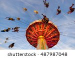 Famous Ferris Wheel At The...