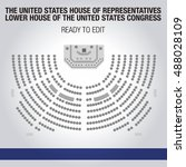 united states house of... | Shutterstock .eps vector #488028109