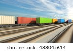 3d rendering of generic... | Shutterstock . vector #488045614