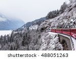 famous sightseeing train in... | Shutterstock . vector #488051263